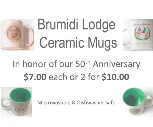 Brumidi Ceramic Mug