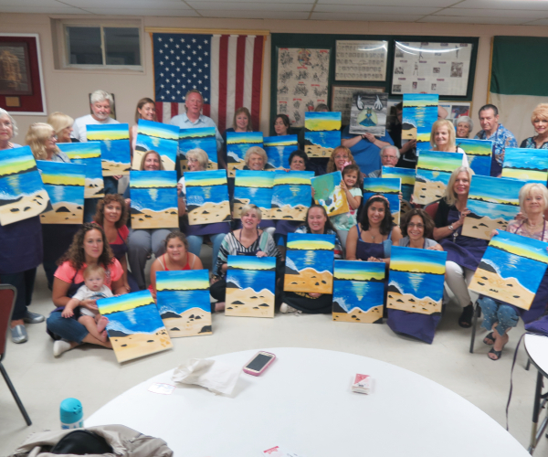 Paint Night Aug 2018