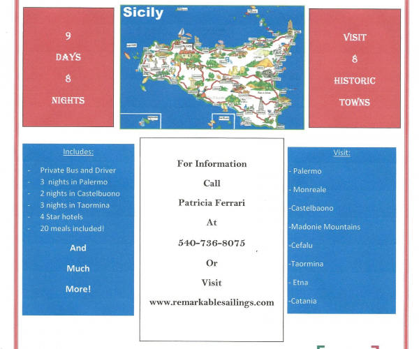 Tour of Sicily Vacation