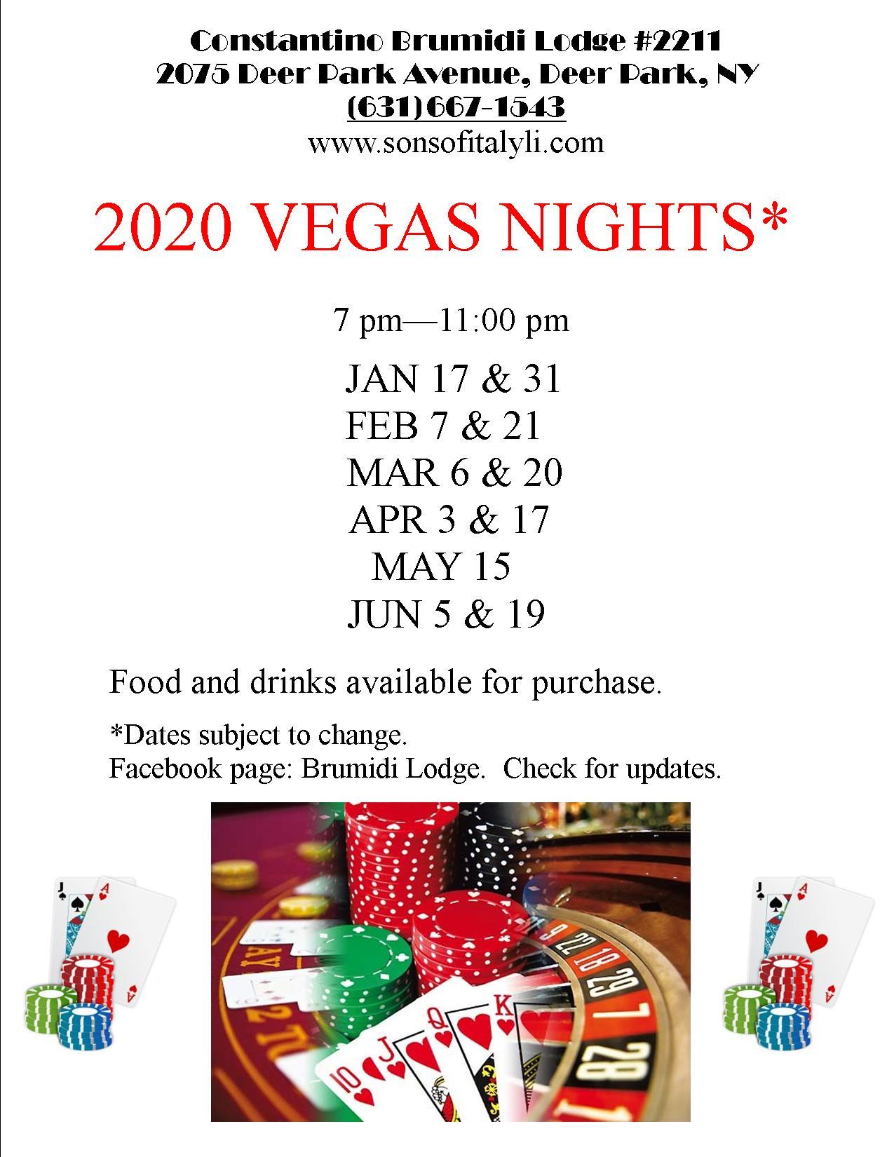 Vegas 2020 flyer